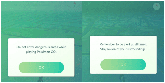 Peringatan dan masalah Pokemon Go Terbaru