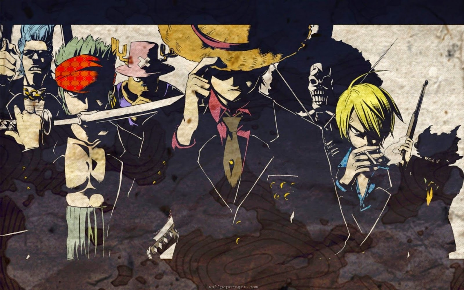 Wallpaper Hd Anime Free Wallpaper Onepiece Black Suit
