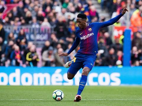 Yerry Mina - hạnh phúc khi đến Barca