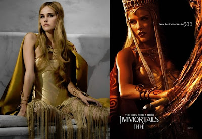 Immortals Film - Athena