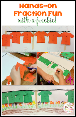 Comparing Fractions Hands-on Math Freebie