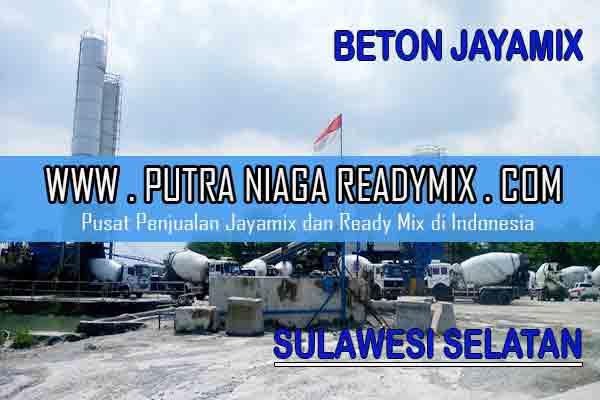 Harga Beton Jayamix Sulawesi Selatan