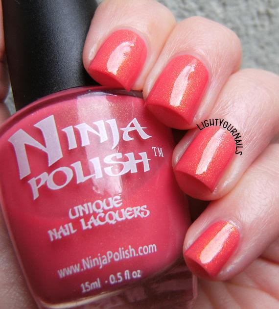 Ninja Polish Pacific Coral