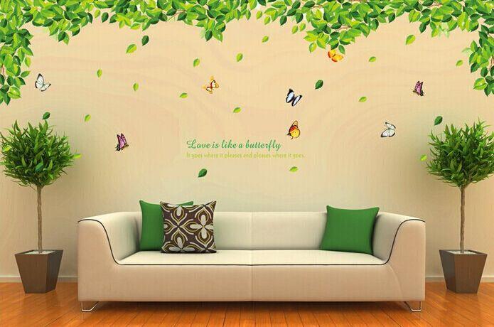 ngerawat rumah yuk . . .: wall sticker / stiker dinding untuk setiap