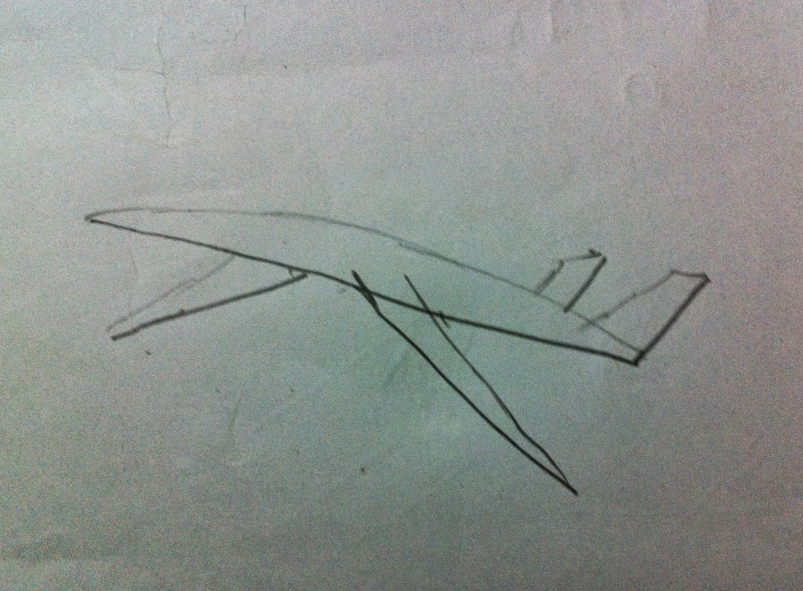 4 Best Pencil Shading Sketch Techniques To Draw A Jet Plane