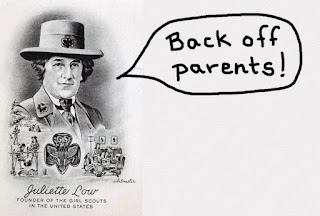 Girl Scout Founder Message to Parents