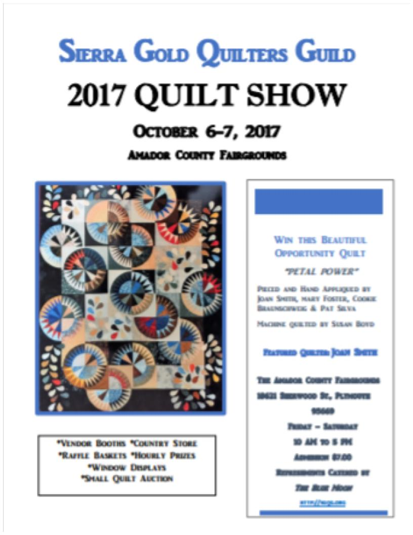 Sierra Gold Quilt Show - Oct 6 & 7