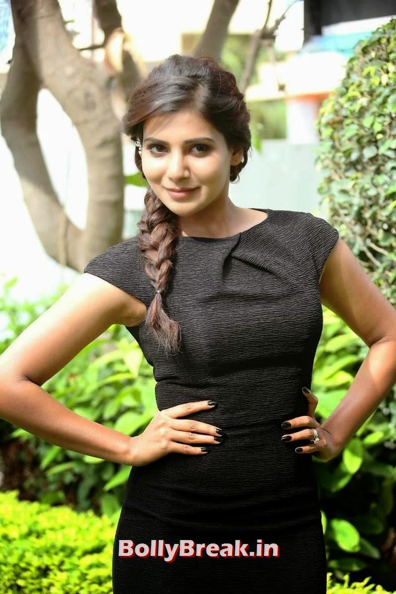 Samantha Images in Hot Figure Higging Black Dress - Sexy Pics - 12 ...