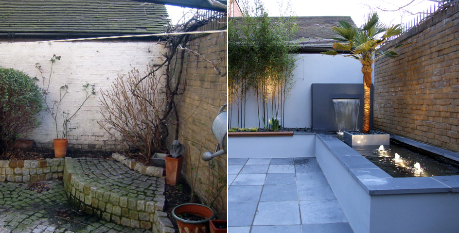 mylandscapes garden design before and after photos of
