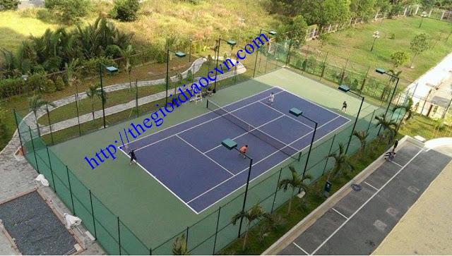 Sân Tennis dự án The Eastern quận 9