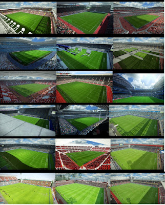 PES 2013 19 EPL Teams Stadium Pack for GDB by Sevak