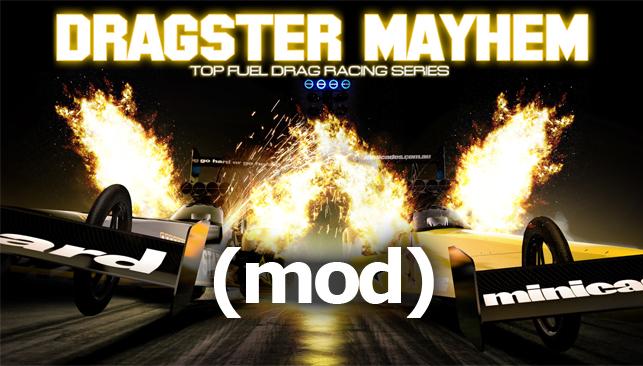 Download Dragster Mayhem Top Fuel Sim Mod Unlimited Money Terbaru 2016