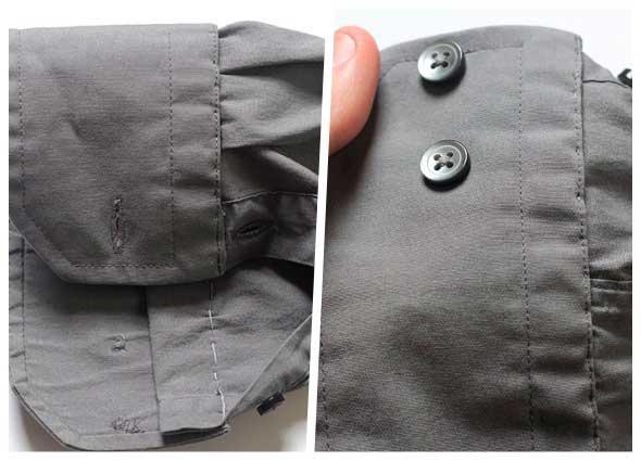 coser, costura, mangas, camisa, puños, arreglar prendas