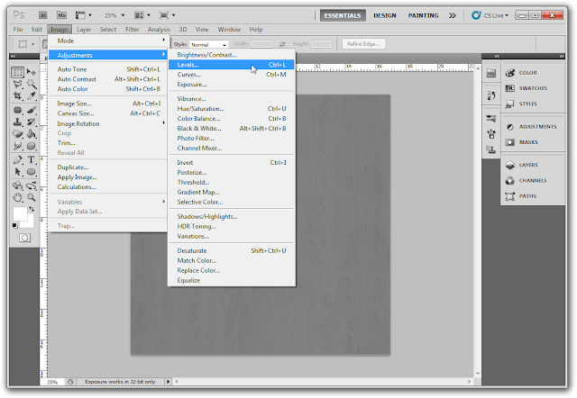 Tutorial membuat Bump & Displacement Map dengan Photosshop