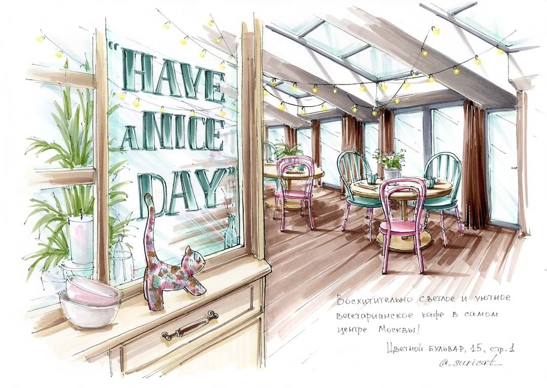 07-Have-a-Nice-Day-Ekaterina-Surikat-Interior-Design-Architecture-and-Travel-Journals-Drawings-www-designstack-co
