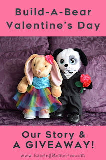 Build A Bear Giveaway for Valentines Day