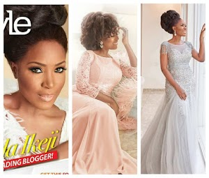 See more stunning photos of Linda Ikeji as she covers ThisDay magazine