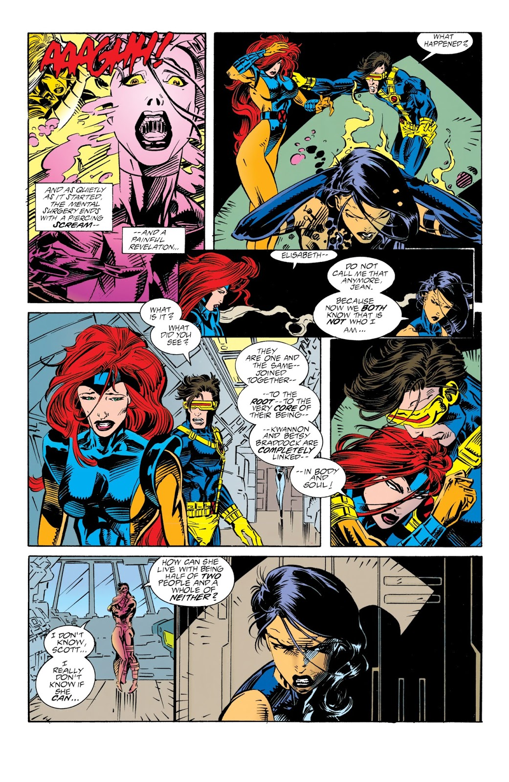 PSYLOCKE Like A Butterfly Tbt X Men Annual 2 The