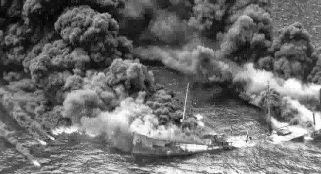 torpedoed tanker World War II worldwartwo.filminspector.com