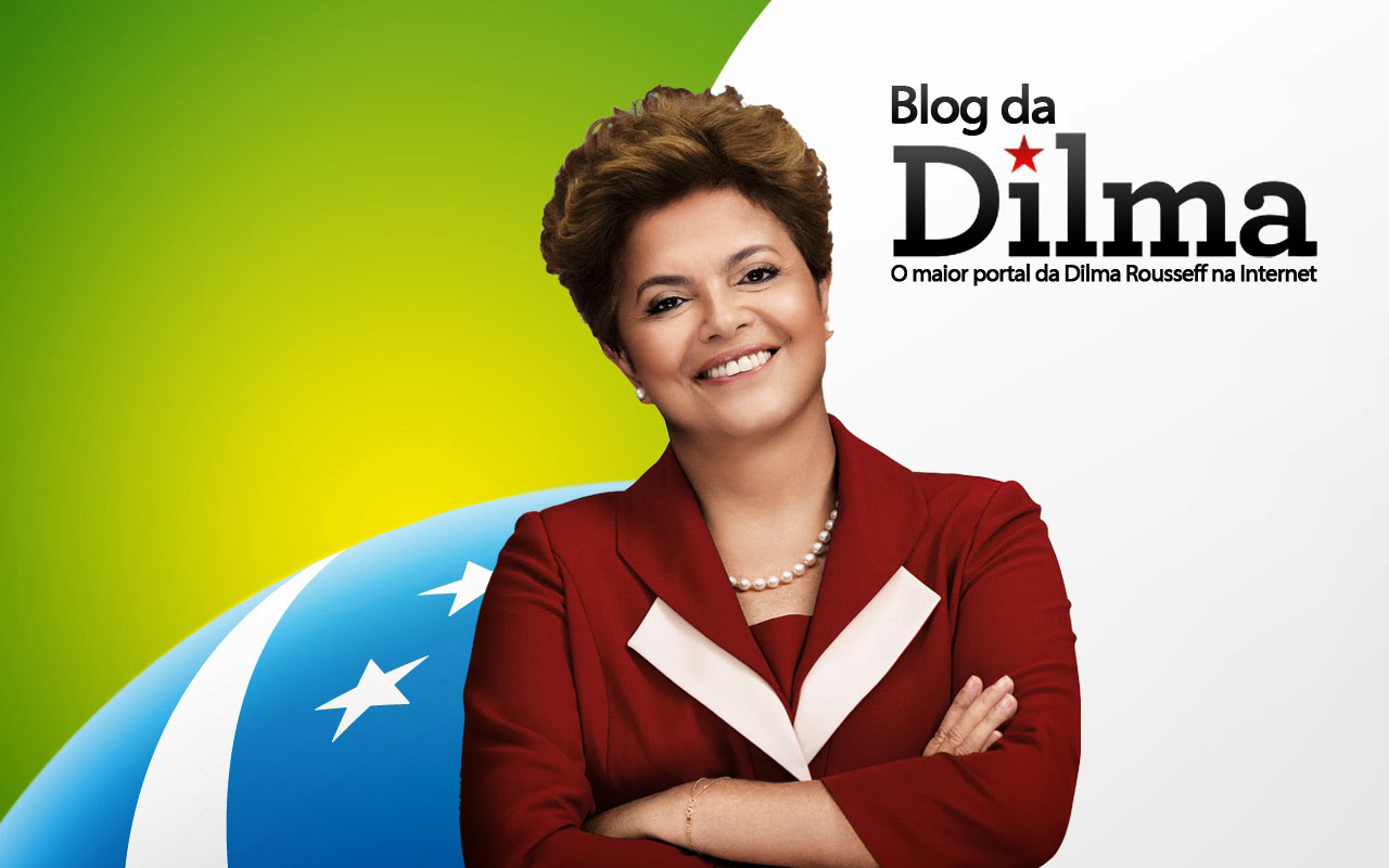 Curta a fan page do Blog da Dilma