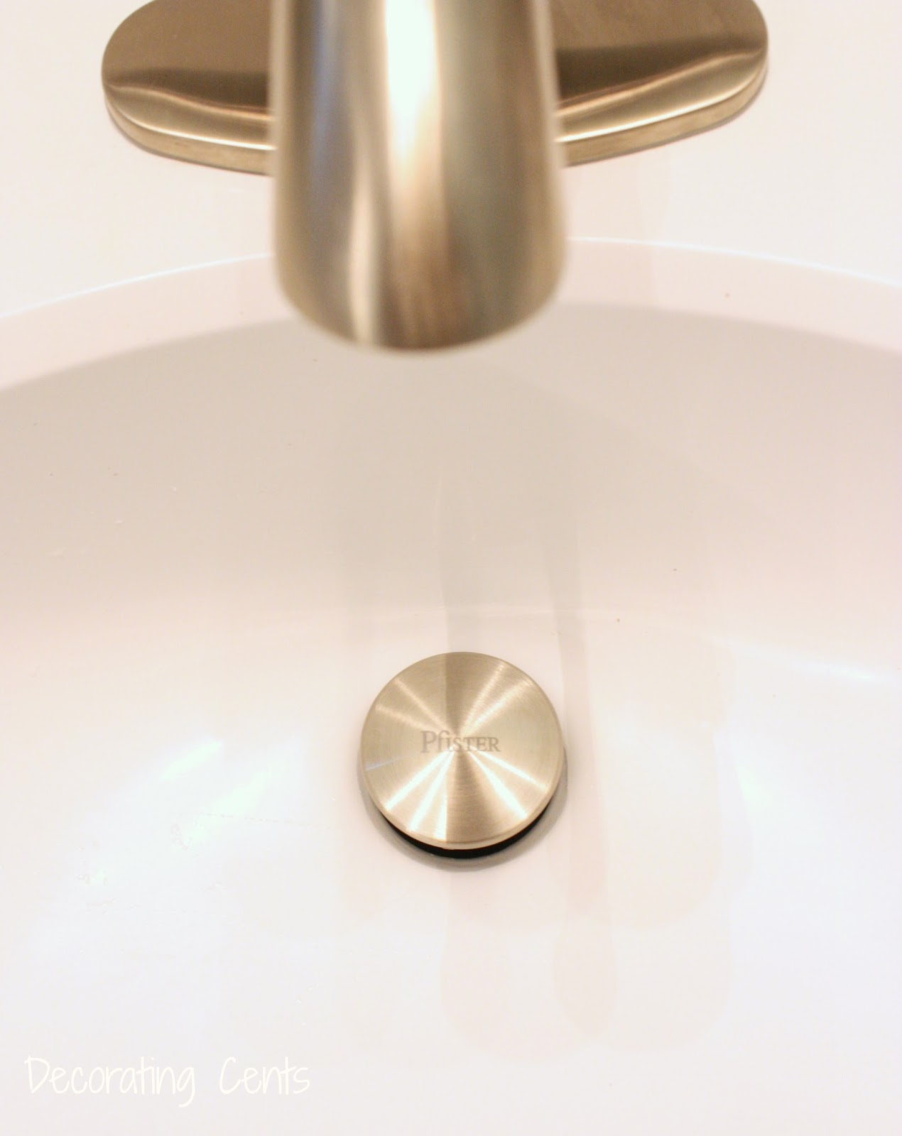 Decorating Cents: Bathroom Faucets From Pfister