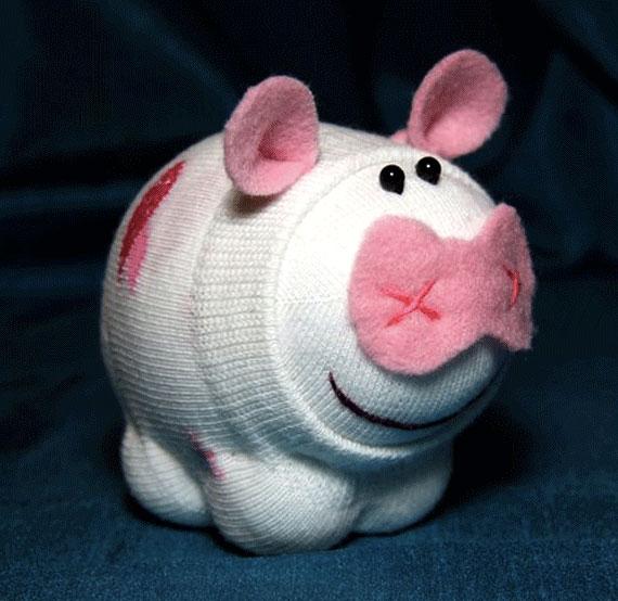 Handmade: Игрушки из носков