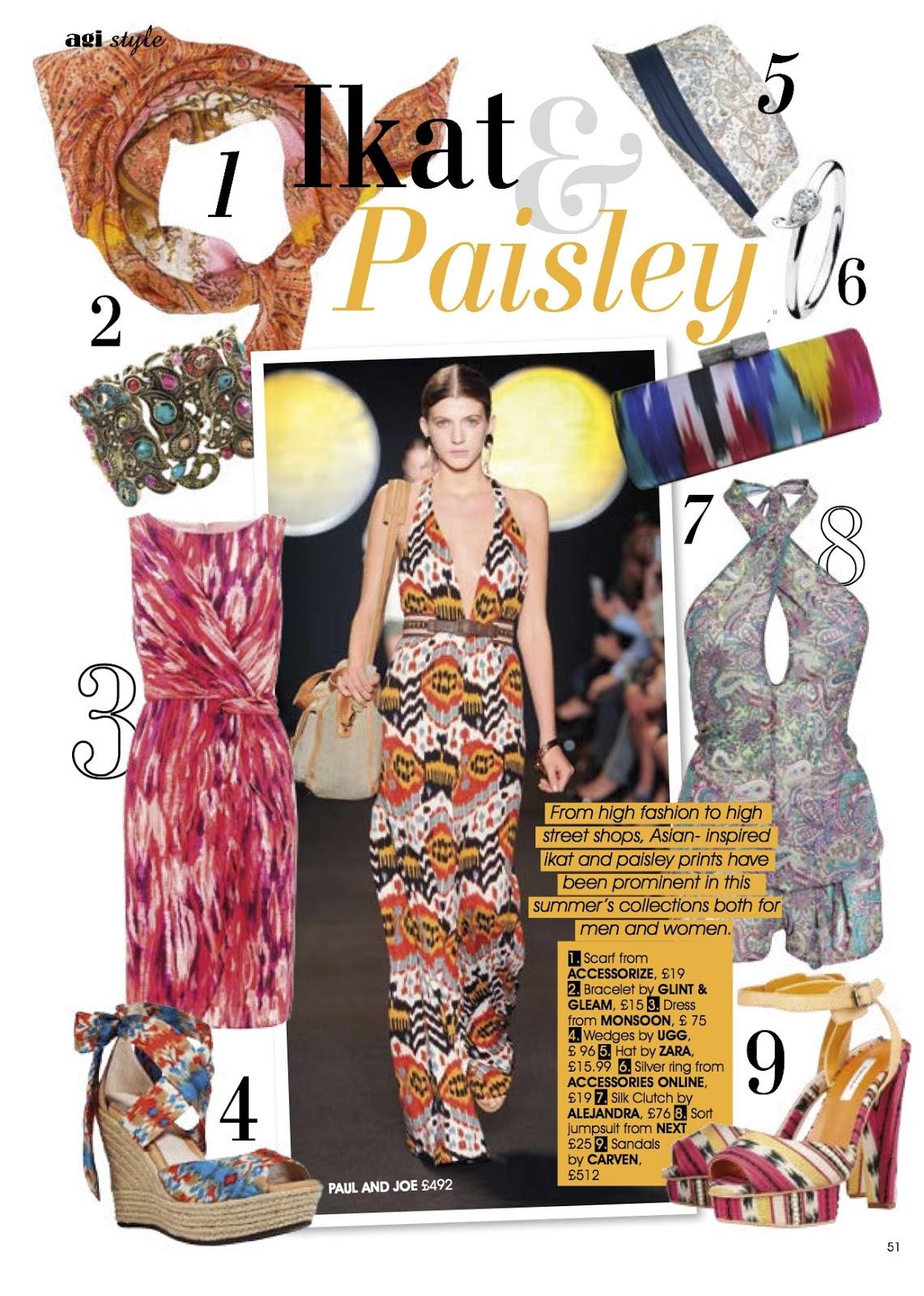 Mood Board Ikat And Paisley The Stylish Voyager