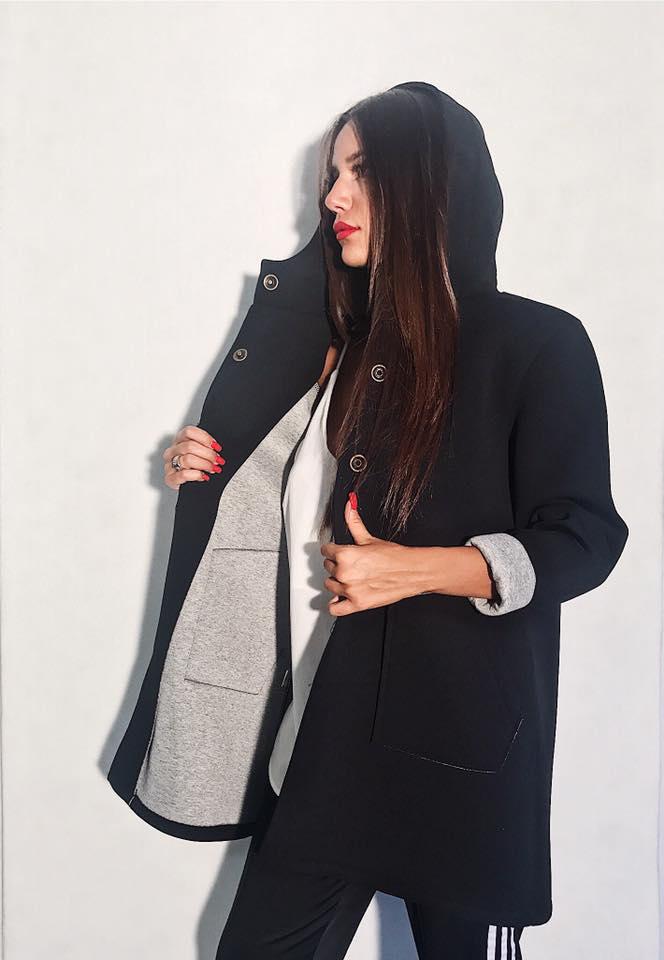 new style a46ae 69f18 Abbigliamento moda donna cappotti di neoprene