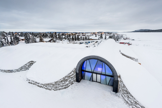 Icehotel 365 - Entrance
