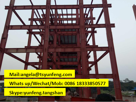 my heam used in bangaldesh steel building construction!! i am professional h beam supplier from China!