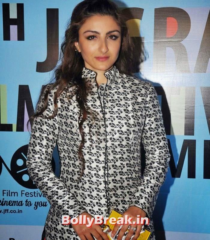 Soha Ali Khan, Soha Ali Khan Pics from 3rd Day of 5th Jagran Film Festival