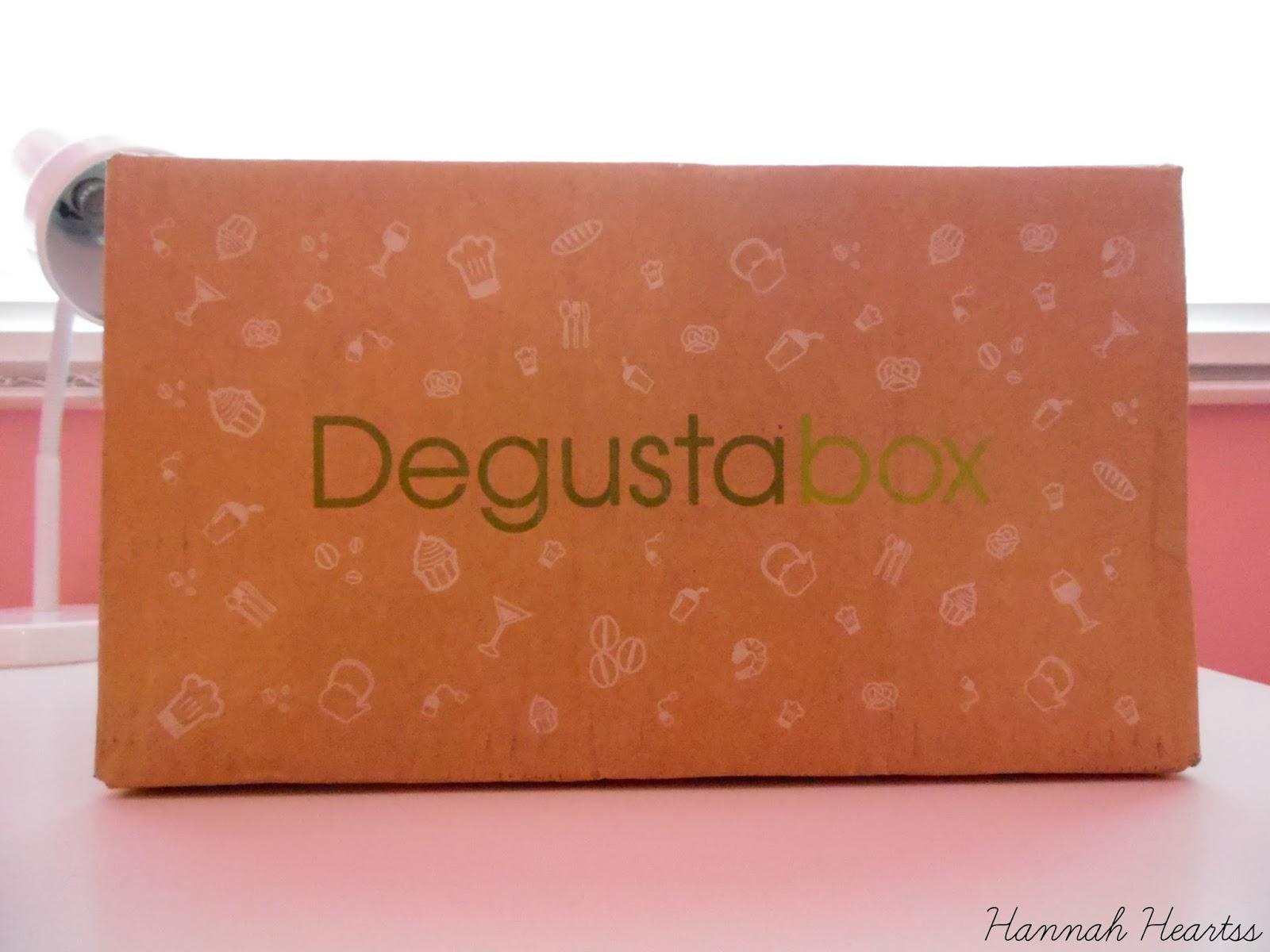 December 2014 DegustaboxUK
