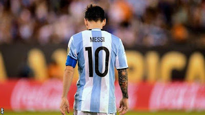 Messi has played 113 times for Argentina