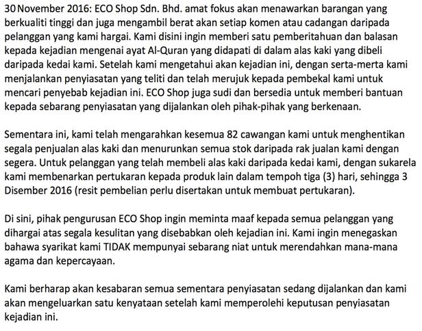 ECO Shop Malaysia