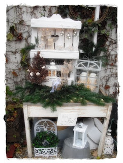 shabby landhaus paletten deko. Black Bedroom Furniture Sets. Home Design Ideas
