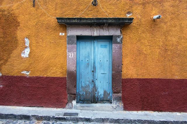 Colores del centro de de San Miguel de Allende Guanajuato