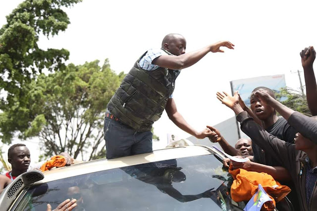 Raila Odinga Shows Great Statemanship By Bringing His Children To A Violent Protest