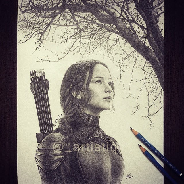 13-The-Hanging-Tree-Jennifer-Lawrence-Cas-_artistiq-Colored-Celebrity-and-Cartoon-Drawings-www-designstack-co