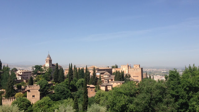 My experience abroad, Alhambra Granada