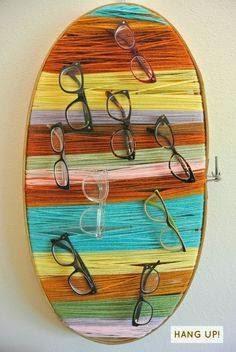 Mosaico de Artes  Porta óculos artesanal c66a79279c