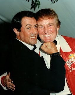 Sylvester Stallone and Donald Trump