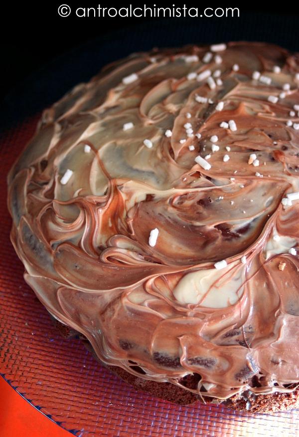 Torta in Padella allo Yogurt e Cacao