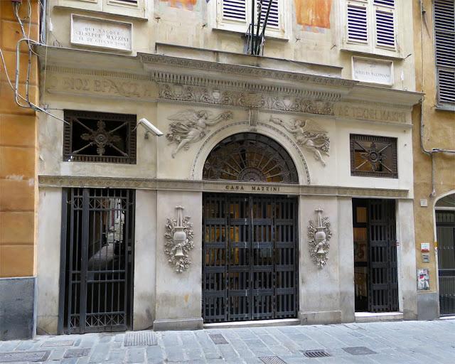 Casa Mazzini, birthouse of Giuseppe Mazzini, Via Lomellini, Genoa