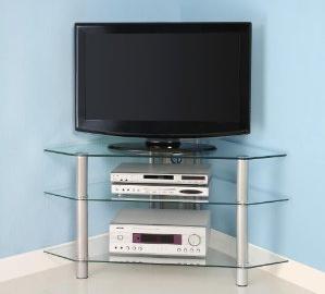 Space Saver Corner TV Stand