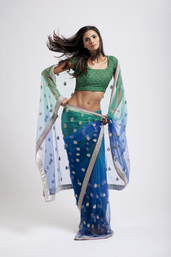 House Of Raaj Collection Saree With A Style Sarees For Night Parties She9 Magazine 2012