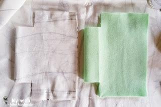 come fare fodera dei sacchetti di stoffa porta vasi