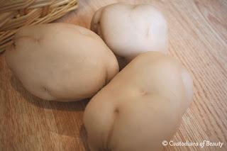 Garden Potatoes | DIY Play Food by CustodiansofBeauty.blogspot.com