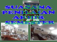 Suasana Penilaian Akhir Semester 1 2018/2019 di SDN Ratujaya 1