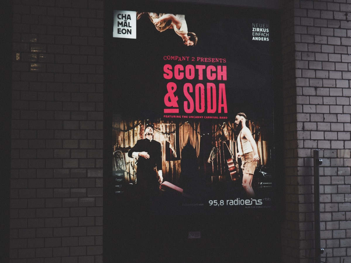 Scotch & Soda at CHAMÄLEON Berlin Review