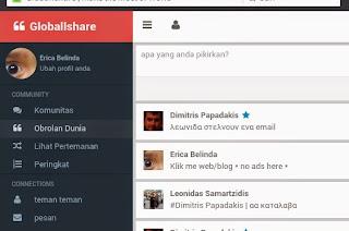 Globallshare Sosial media terbaru di Indonesia